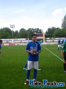 Garrote fue uno de los mejores de la U.D.Almansa en la 2011/2012 (FOTO: Archivo)
