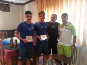Pedro Costa y Carlos Pina - Campeones