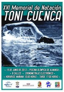 """Cartel del Memoral """"Toni Cuenca"""""""