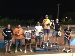 Aquí los participantes del Campeonato Intercomarcal.