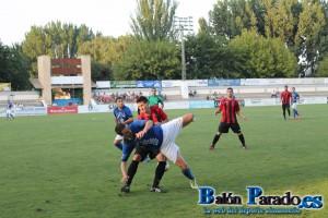 El C.D.Azuqueca no pudo parar a Iker Torre que marcó dos goles.
