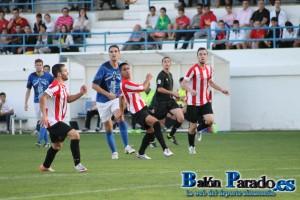Iker Torre no tuvo su tarde  y apenas gozó de ocasiones de gol
