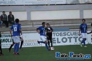 Sergio Moreno fue titular en este partido