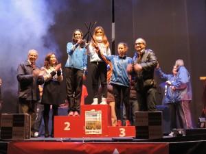 Estela Matea Climent en lo más alto del podio de Toledo