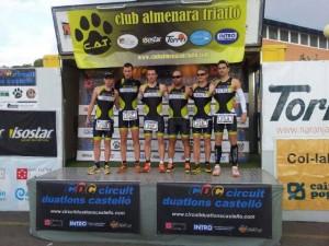 El equipo TRIFITNESS 31. (FOTO: Miguel Ángel Villaescusa)