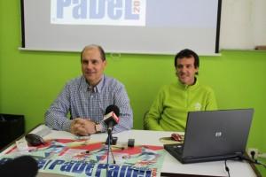 José Gil y Pablo Ruiz durante la rueda de prensa. (FOTO: María José Simón)