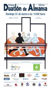 El cartel es obra del Artista local Paco Catalán.