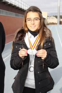 Estela fue 4ª en el Campeonato de España.