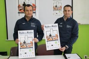 Josñe Julián López y Jorge Jesús Sáez presentaron el cartel.