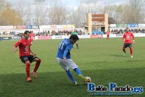 Pablo García López realizó una excelente actuación. Su mejor partido desde que llegó al Almansa.