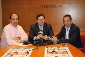 La presentación tuvo lugar en el Ayuntamiento de Almansa. (FOTO: María José Simón)