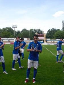 Garrote fue el ganador en la Temporada 2011-2012 y vuelve a optar al Trofeo en la 2013-2014