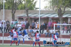 Un saque de esquina mal defendido originó el gol del Pedroñeras