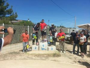 """Podio Campeonato Levante. (FOTO: C.R.C.""""Castillo de Almansa)"""