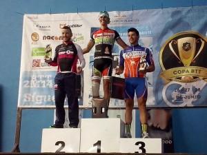 Este fue el podio de Villarrobledo