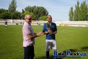Pablo García ganó el Trofeo Balón Parado por su gran temporada en la U.D.Almansa