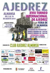 Cartel Ajedrez 2014