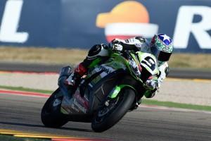 Kenny Noyes, líder en Superbike