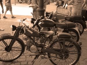 Motos Antiguas sepia-7948