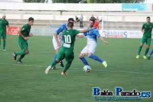 Oca hizó un completísimo partido marcando dos goles y asistiendo a Iker Torre en el otro.