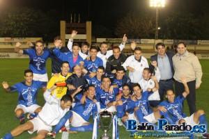 La U.D.Almansa se proclamaba Campeón Regional en la pasada edición de la Copa R.F.E.F.