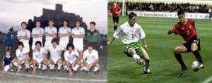 Imágenes de los últimos partidos que ambos equipos jugaron en Almansa.