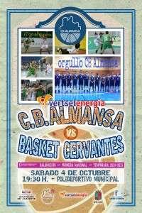 CB Almansa-BASKET CERVANTES.