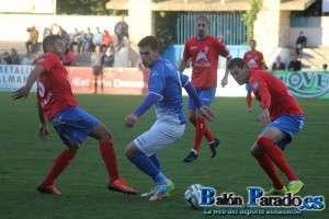 Paco Tomás volvía al once inicial y marcó dos goles