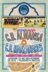 CB Almansa-CB Manzanares