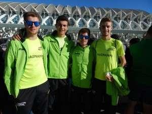 También hubo participación en la prueba paralela de 10 kilómetros