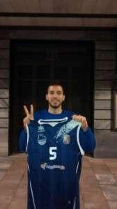 Rubén volverá a vestir la camiseta del C.B. Almansa. (FOTO: Rubén Naranjo)