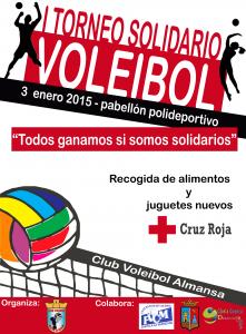 cartel torneo solidario