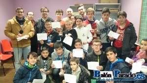 Catorce ajedrecistas se clasificaron para la Fase Provincial
