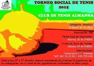 Cartel Torneo Social 2015