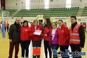 La representación de la Cruz Roja también tuvo su Diploma Solidario