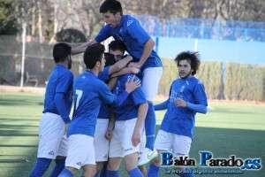 La victoria ante el Albacete B da aire al Juvenil del Almansa