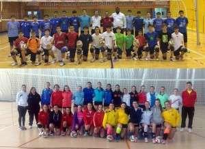 Imagen obtenida en el muro de Facebook del Club Voleibol Almansa