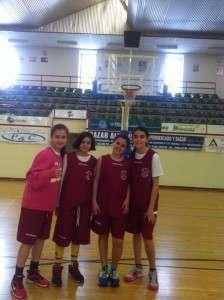 Campeón Minibasket femenino