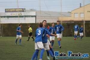 Los chavales del Provincial celebran el segundo gol