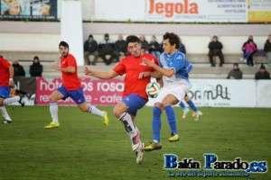 El Madridejos vencía en el Paco Simón por 0-1. Imagen partido de ida.