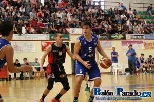 El Cadete Juan Carlos Ruano ha destacado a lo largo del Torneo.