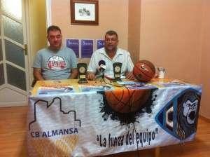 El presidente Pascual Vizcaino y Antonio Piqueras como directivo