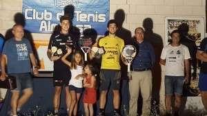 Gonzalo Pérez y Jaume Roig, vencedores del Torneo.
