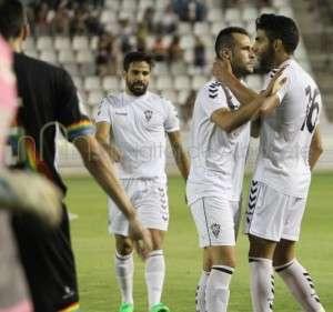Santi Jara debutó a lo grande en el Albacete. (FOTO: eldigitaldealbacete.com)