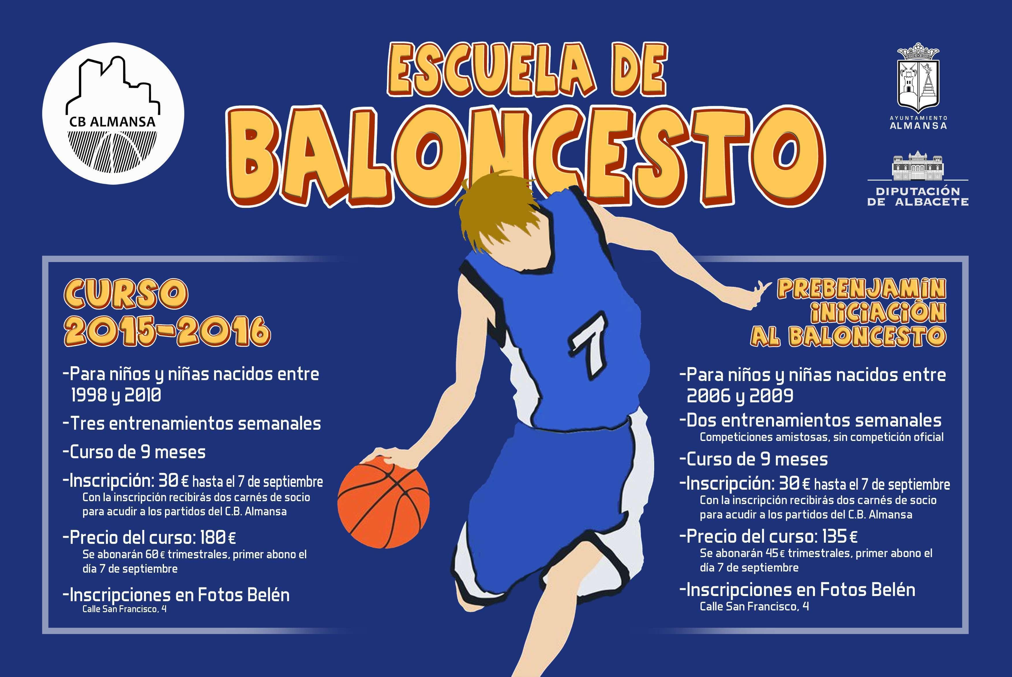 escuela de baloncesto c b  almansa  u2039 balonparado es