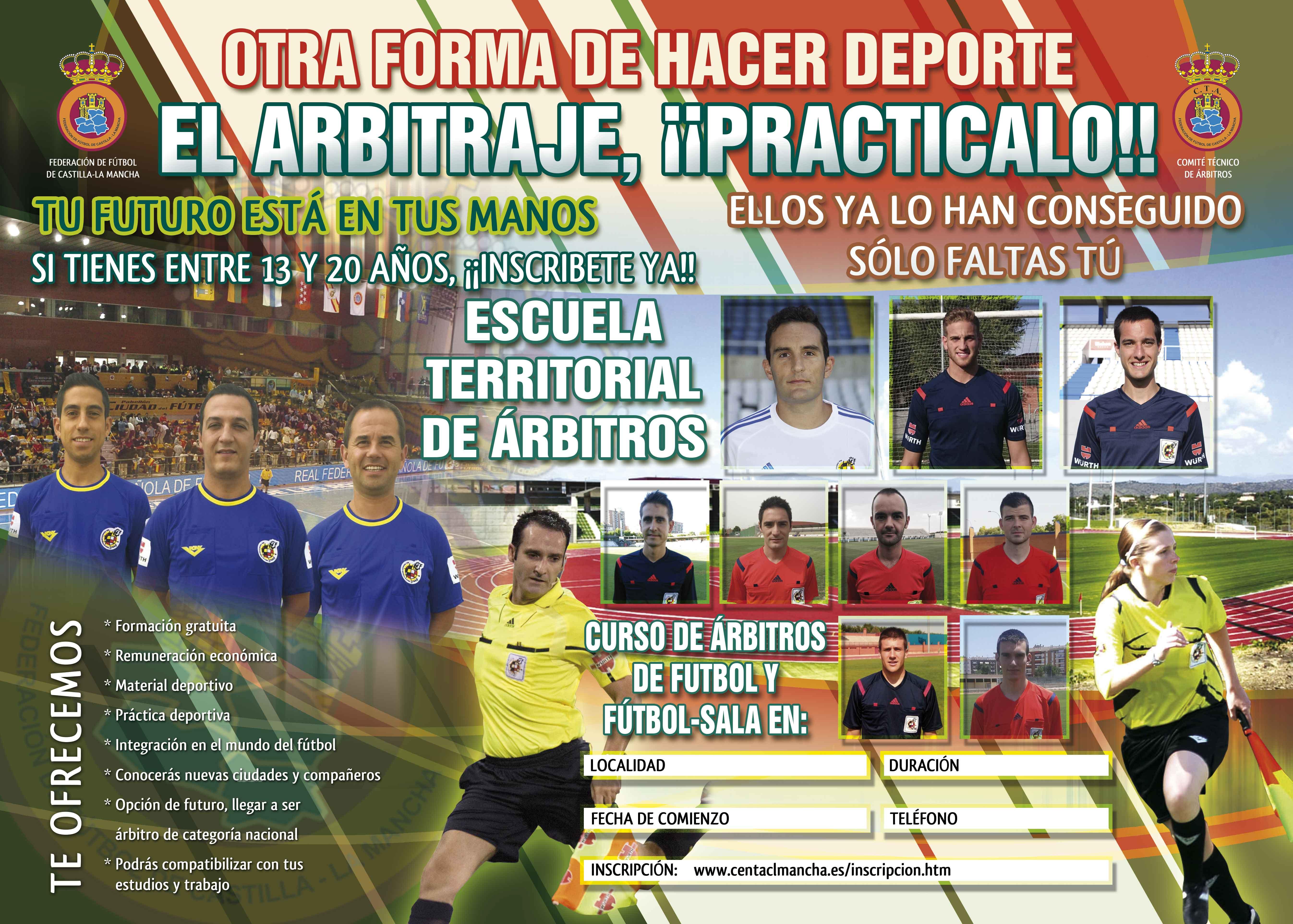 Curso para la formación de árbitros de Fútbol y Fútbol Sala en ... 4a5a0d1691d6e