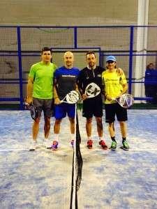 Pablo Alberola y Felipe Cantos se enfrentaron en la Final a Goyo y Carlos Fito