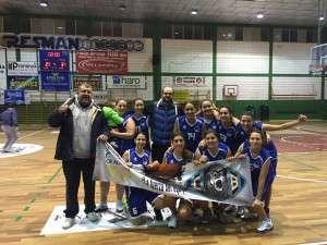 El equipo senior femenino debut en casa después de ganar la pasada semana en Villarrobledo