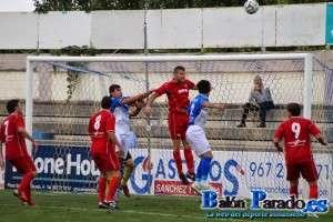 Imagen del partido jugado entre Almansa y Almagro la temporada pasada