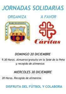 Cartel Jornadas Solidarias